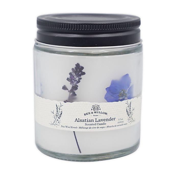 Alternate image 1 for Bee & Willow™ Alsatian Lavender 7.7 oz. Spring Floral Glass Jar Candle