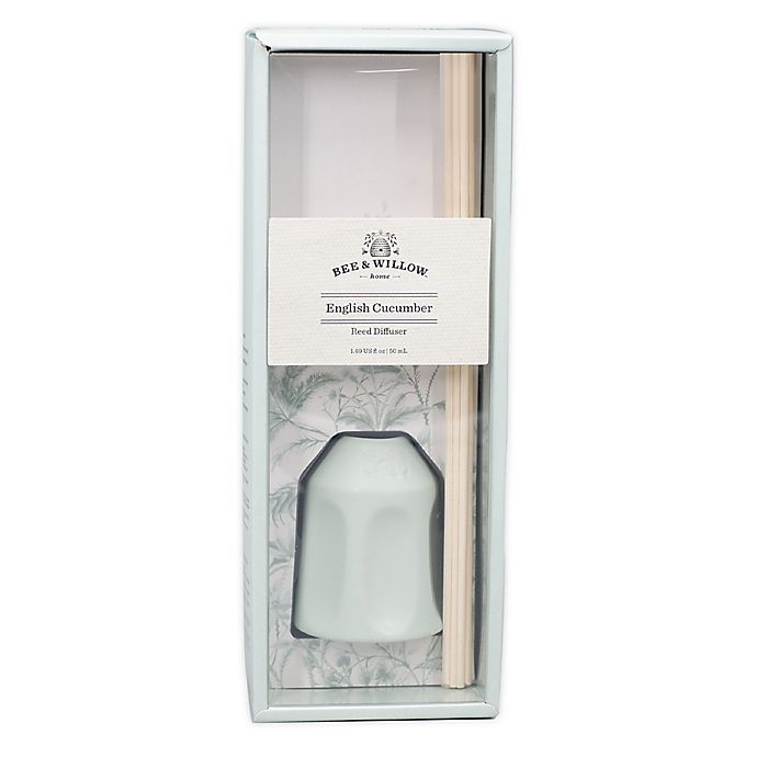 Alternate image 1 for Bee & Willow™ English Cucumber Mini Reed Diffuser