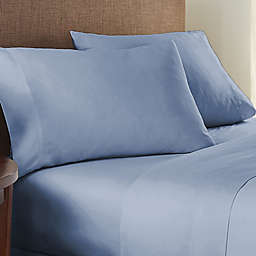 Nestwell™ Pure Earth Organic Cotton 300-Thread-Count Queen Sheet Set in Medium Stone