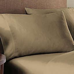 Nestwell™ Organic Cotton 300-Thread-Count King Pillowcases in Dark Oak (Set of 2)