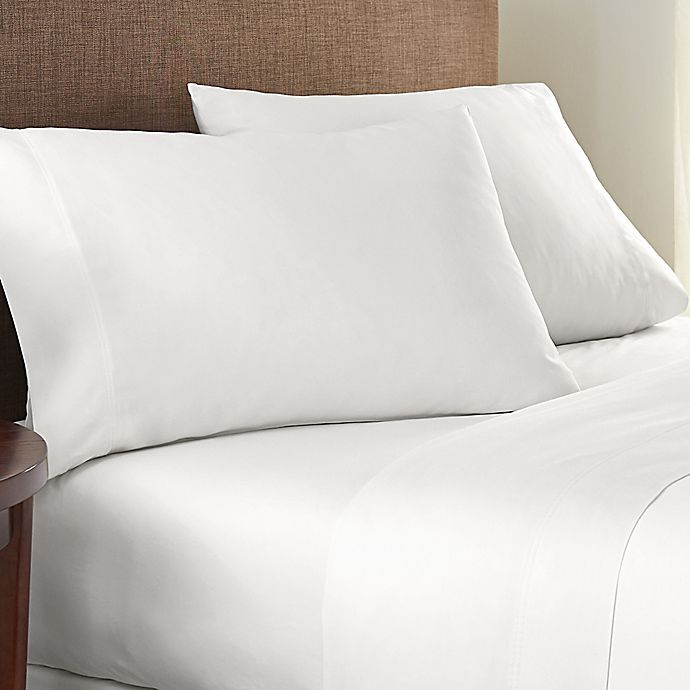 Alternate image 1 for Nestwell™ Pure Earth™ Organic Cotton 300-Thread-Count Twin XL Sheet Set