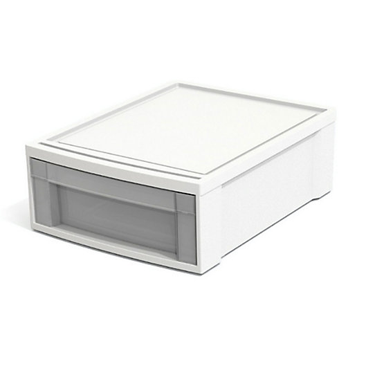 Alternate image 1 for Simply Essential™ Stacking Drawer in White
