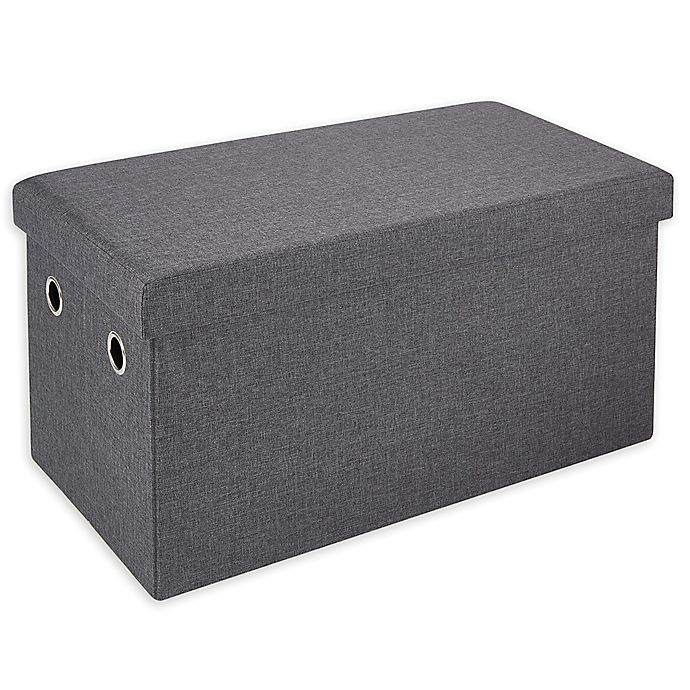 Alternate image 1 for Simply Essential™ 28-Inch Folding Storage Bench