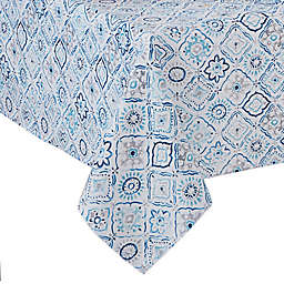 Kristian Indoor/Outdoor Tablecloth in Blue