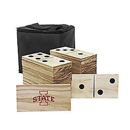 Iowa State University Yard Dominoes Game Set