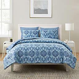 VCNY Home Konya 7-Piece Full/Queen Comforter Set in Blue