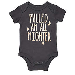 Baby Starters® BWA® All Nighter Bodysuit in Grey