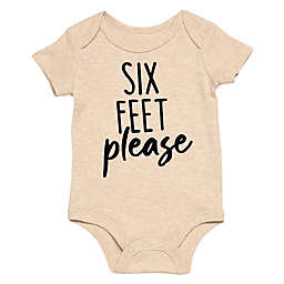 Baby Starters® BWA® Six Feet Please Bodysuit in Ivory
