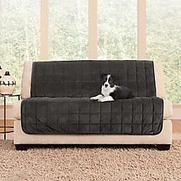 Sure Fit® Deluxe Armless Loveseat Slipcover