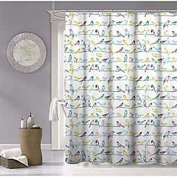 Dainty Home Birds 70-inch x 72-inch Shower Curtain