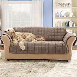 Sure Fit® Deluxe Pet Furniture Cover in Sable