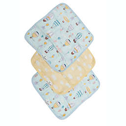 Loulou Lollipop 3-Pack Up Up Away Washcloths