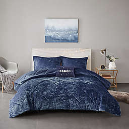 Intelligent Design Felicia 4-Piece King/California King Comforter Set in Navy