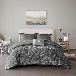 Intelligent Design Felicia 3-Piece Twin/Twin XL Duvet Cover Set in Grey