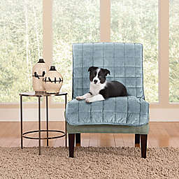 Sure Fit® Deluxe Armless Chair Slipcover