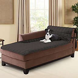 Sure Fit® Deluxe Armless Chaise Slipcover