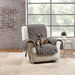 Sure Fit® Quilted Pet Recliner Cover in Gray