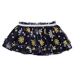 Baby Starters® Daisy Print Tutu Skirt in Black/White