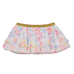 Baby Starters® Flower Heart Tutu Skirt in White/Pink