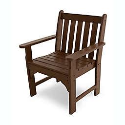 POLYWOOD® Vineyard Garden Arm Chair in Mahogany