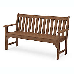 POLYWOOD® Vineyard Garden Bench