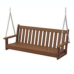 POLYWOOD® Vineyard Garden Porch Swing
