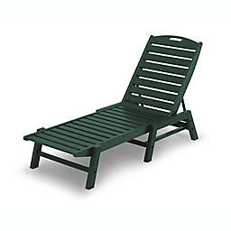 POLYWOOD® Nautical Stackable Chaise