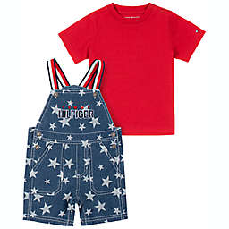 Tommy Hilfiger® 2-Piece Shortall and Shirt Set