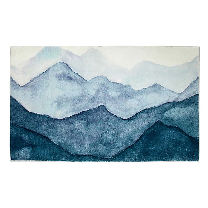 Alternate image 1 for Levtex Home Trail Mix Mountains 5' x 7' Area Rug in Blue
