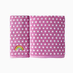 SKL Home Rainbow Cloud Bath Towel Collection