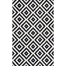 nuLOOM® Kellee 12' x 18' Hand Tufted Area Rug in Black