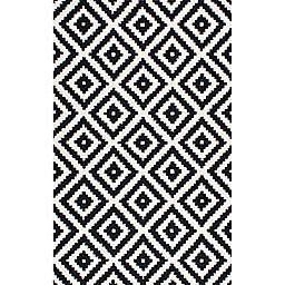 nuLOOM® Kellee 8' x 11' Hand Tufted Area Rug in Black