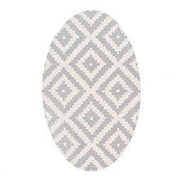 nuLOOM® Kellee 9' x 12' Hand Tufted Area Rug in Light Grey