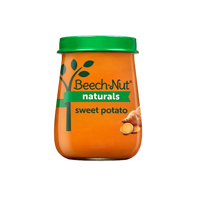 Alternate image 1 for Beech-Nut® Naturals™ 4 oz. Stage 1 Sweet Potato Baby Food
