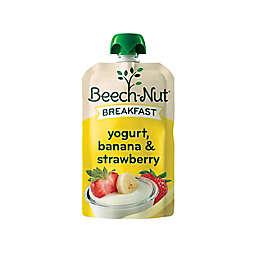 Beech-Nut® 3.5 oz Stage 4 Breakfast Yogurt Banana & Strawberry Baby Food