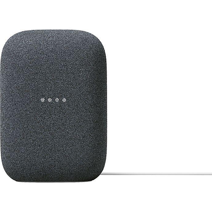 Alternate image 1 for Google Nest Audio Smart Speaker in Charcoal