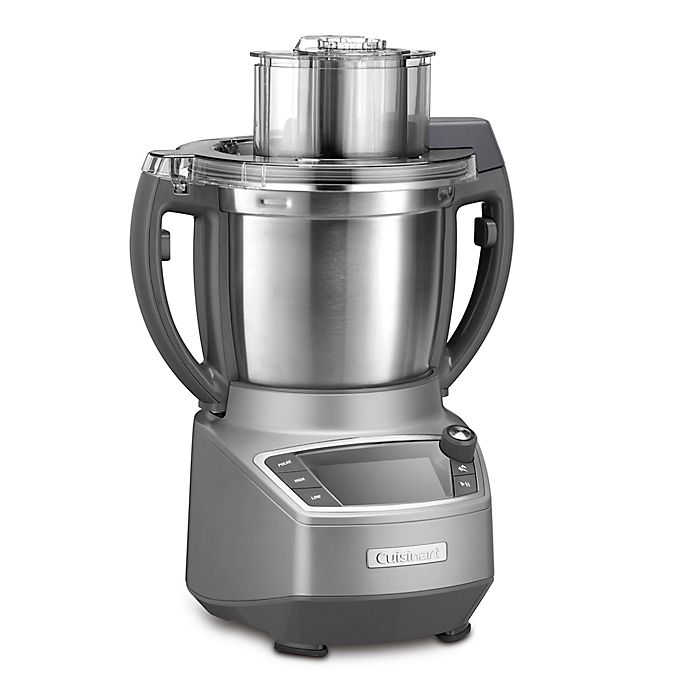 Alternate image 1 for Cuisinart® CompleteChef™ Cooking Food Processor in Stainless Steel/Grey