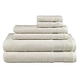 Avanti Solid 6-Piece Towel Set in Ivory