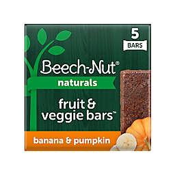 Beech-Nut® 5-Count Stage 4 Banana and Pumpkin Fruit & Veggie Bars