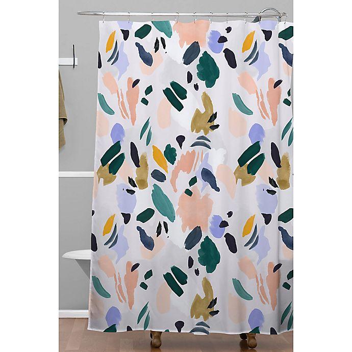 Alternate image 1 for Deny Designs 71-Inch x 74-Inch Camarasa Terrazzo Brushstrokes Shower Curtain