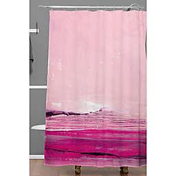 Deny Designs 71-Inch x 74-Inch Iris Lehnhardt Summer Feeling Shower Curtain in Pink
