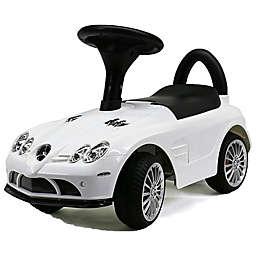 Evezo Mercedes Benz SLR McLaren Ride-On Push Car in White