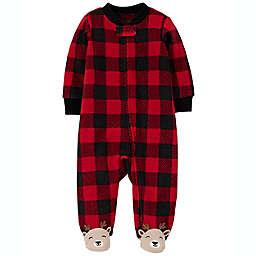 carter's® Buffalo Plaid Footie Pajama