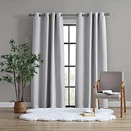 UGG® Devon 108-Inch Grommet Room Darkening Window Curtain Panel in Seal Grey