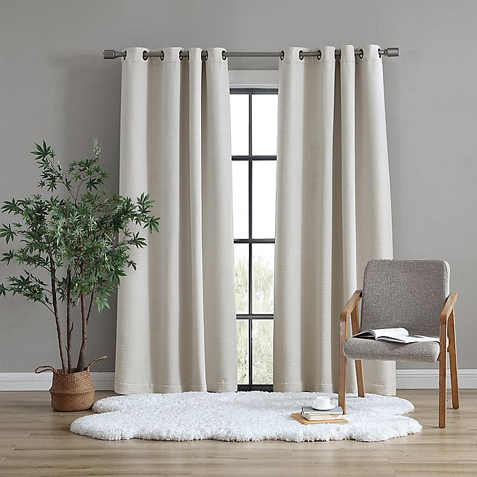 Alternate image 1 for UGG® Devon Grommet Room Darkening Window Curtain Panel (Single)