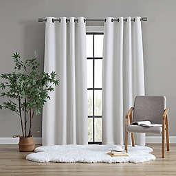 UGG® Devon 108-Inch Grommet Room Darkening Window Curtain Panel in Snow