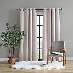 UGG® Tessa 108-Inch Grommet 100% Blackout Window Curtain Panel in Blush