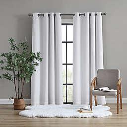 UGG® Tessa 63-Inch Grommet 100% Blackout Window Curtain Panel in Snow (Single)
