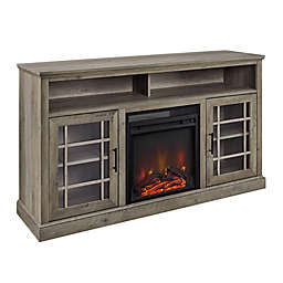 Forest Gate™ 58-Inch Traditional TV Stand with Electric LED Fireplace