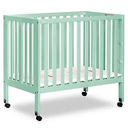 Dream On Me Jett Mini Portable Folding Crib in Mint